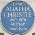 Image for Agatha Christie - Creswell Place, London, UK
