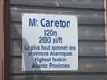 Image for Mont Carleton-new Brunswick, Canada