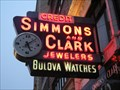 Image for Simmons and Clark Jewelers Town Clock - Detroit, Mi.