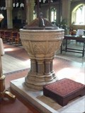 Image for Font, St Peter & St Paul, Upton-upon-Severn, Worcestershire, England