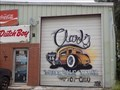 Image for Clark's Wholesale Paint garage art - OKC, OK
