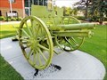 Image for 1918 German Field Cannon (RIGHT) - Wetaskiwin, AB