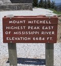 Image for HIGHEST - Mountain Peak East of the Mississippi River, Mt. Mitchell