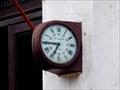 Image for Clock on the train station - Baile Herculane, Romania