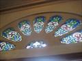 Image for Doorway stained glass - Paróquia Assunção de Nossa Senhora - Sao Paulo, Brazil