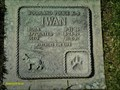 Image for Iwan, a police canine -- Sierra Hills Pet Cemetery -- Sacramento Co. CA