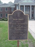 Image for Bryan County Historical Marker