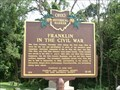 Image for Franklin In The Civil War (12-83) - Franklin OH