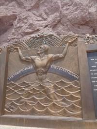 veritas vita visited Memorial to Labor at Hoover Dam