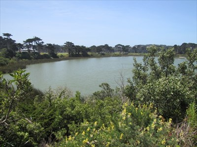 Lake Merced and Golf Courses, San Francisco, CA
