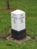 Image for A329 London Road milestone, Wokingham, Berks