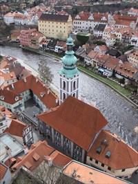 Pohled ze zámecké věže