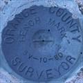 Image for Orange County Surveyor 3V-10-80 Benchmark - Silverado, CA
