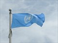Image for Flag of the United Nations - Grand Pré, Nova Scotia