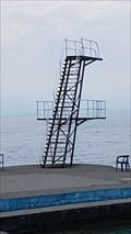 Image for le plongeoir de la plage, Saint-Gingolph-PACA-France