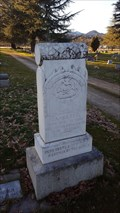 Image for James Bell - Henley & Hornbrook Cemetery - Yreka, CA
