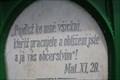 Image for Citat z bible - Mat.XI.28. - Cerna Hora, Czech Republic