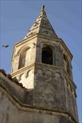 Image for le clocher de l'église Saint Genest- Raphèles les Arles- Bouches du Rhône- PACA- France