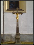 Image for Churchyard Cross (Basilica of the Assumption of the Virgin Mary and St. Nicolas) - Zdar nad Sazavou, CZ