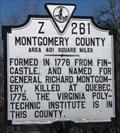 Image for Montgomery County / Pulaski County