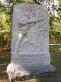 Image for 105th Ohio Infantry Monument ~ Chickamauga Georgia