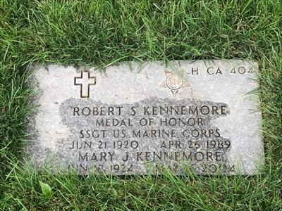 Robert S. Kennemore, San Francisco National Cemetery