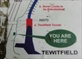 """Image for """"You Are Here"""" At Lancaster Canal Upper Reaches Junction - Tewitfield, UK"""