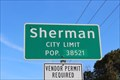 Image for Sherman, TX - Population 38521