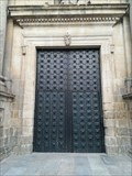 Image for Door of the Monastery's Church - Celanova, Ourense, Galicia, España