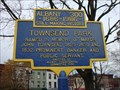 Image for Tricentennial Marker about Townsend Park - Albany, NY