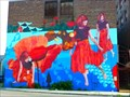 Image for Mural du Mohawk theater - North Adams, Massachussetts
