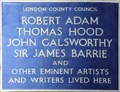 Image for Artists and Writers - Robert Street, London, UK