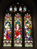 Image for St Mary Magdalene - Stained Glass - Wiston, Pembrokeshire, Wales, Great Britain.