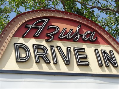 Foothill - Azusa Drive In Theatre - California, USA.