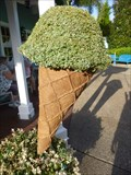 Image for Ice Cream (Topiary) - SeaWorld, Orlando, Florida, USA.