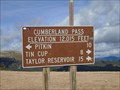 Image for Cumberland Pass, Gunnison County, CO. 12015 ft