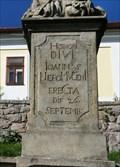 Image for 1716 - Statue of St. John of Nepomuk - Hrochuv Týnec, Czech Republic
