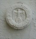 Image for Reichshöhenmarke an der ev. Stadtkirche in Schwarzenbach an der Saale/ Bayern/ Deutschland