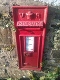 Image for Victorian post box, St. Gennys church, Cornwall