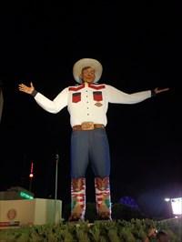 Big Tex 2.0, unveiled in 2013.