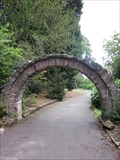 Image for Fine Doorway Remnant, Grosvenor Park, Chester, Cheshire, England, UK