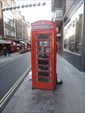 Image for Red Telephone Box - James Street, London, UK