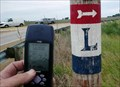 Image for Directional Sign on Wooden Pole east of DeWitt, Iowa