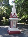 Image for Diamond Jubilee Fountain.  Pukekura Park.  New Plymouth. NEW ZEALAND.