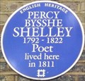Image for Percy Bysshe Shelley - Poland Street, London, UK