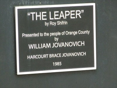 The Leaper - Orlando City Center - Florida.