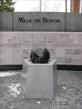 Image for Atchison County Walk of Honor Kugel Ball - Rock Port, Missouri