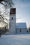 Image for Kirche mit schiefem Turm - Sensau, Steinhöring, Lk Ebersberg, Bayern, D
