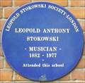 Image for Leopold Anthony Stokowski - Marylebone High Street, London, UK