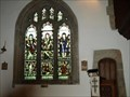 Image for Stained Glass windows in Mary Tavy Church, Devon.